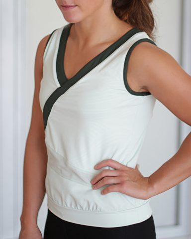 white-nike-top-with-green-trim