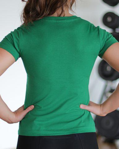 Nike short sleeved kick butt top