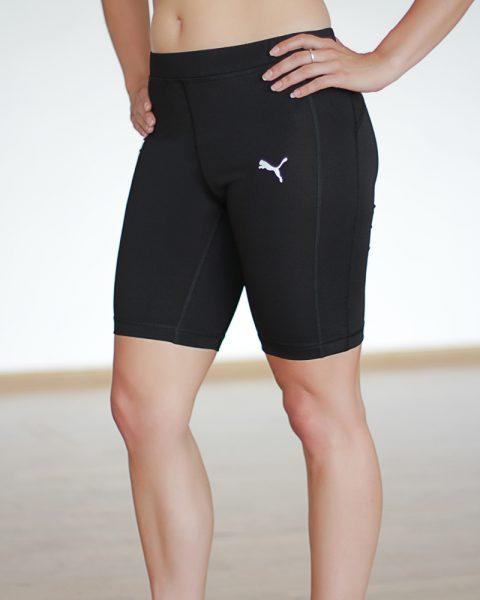 Black Puma Shorts