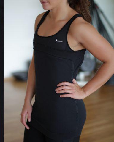 Black Nike Tennis Top