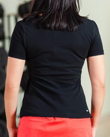 Black Puma Golf Polo Shirt