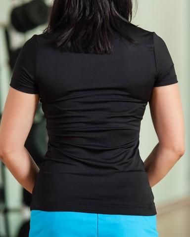 Black Puma T-Shirt Womens Sports Gear