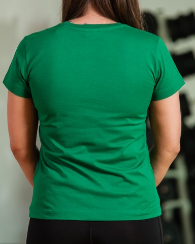 Green Nike Short Sleeved T-Shirt
