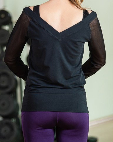 Nike Long Sleeved Top Womens Sports Gear