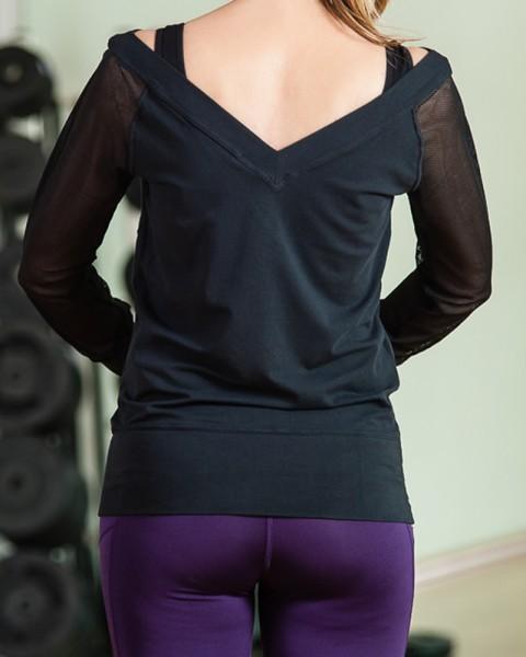 Nike Long Sleeved Top Womens Sports Gear