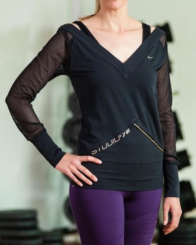 Long Sleeved Nike Top