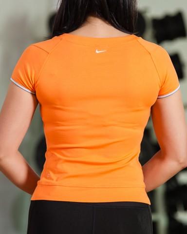 Orange Nike T-Shirt