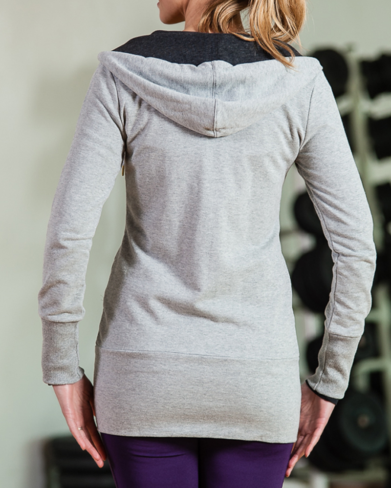 Puma Long Grey Hoody