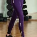 Purple Puma Core Tights Womens Sports Gear
