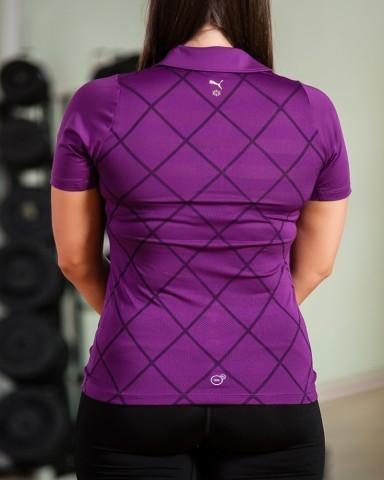 Purple Golf Polo Shirt