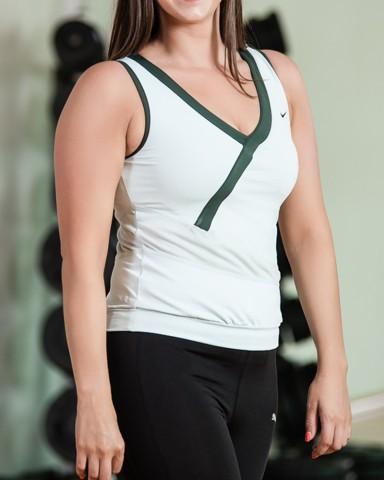 White Nike Air Sleeveless Top Womens Sports Gear