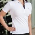 White Puma Golf Polo Shirt