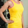Yellow Nike Sleeveless Vest