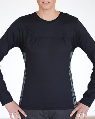 Nike Long Sleeved Black Top