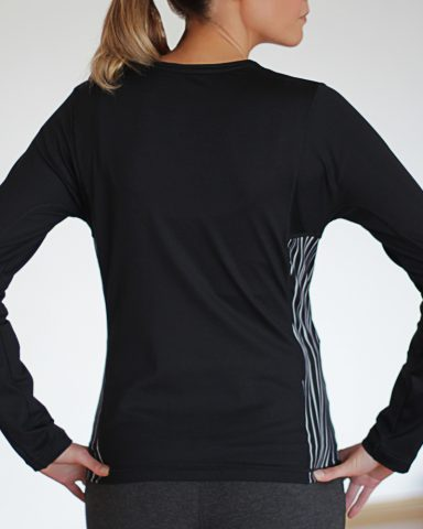 Nike Long Sleeved Black Top