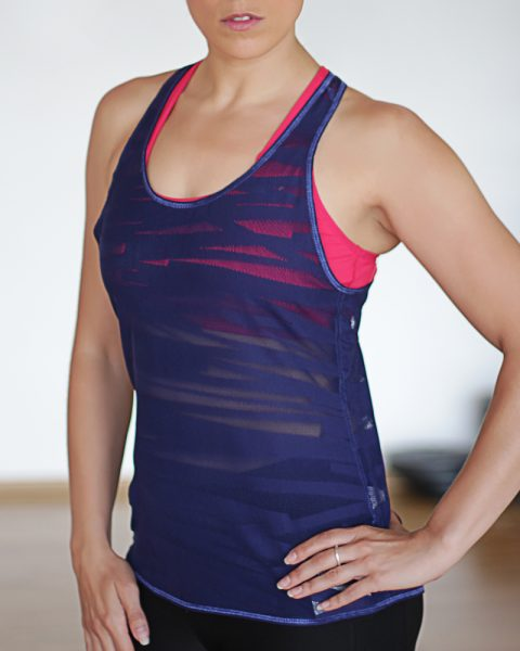 Purple Layer Tank