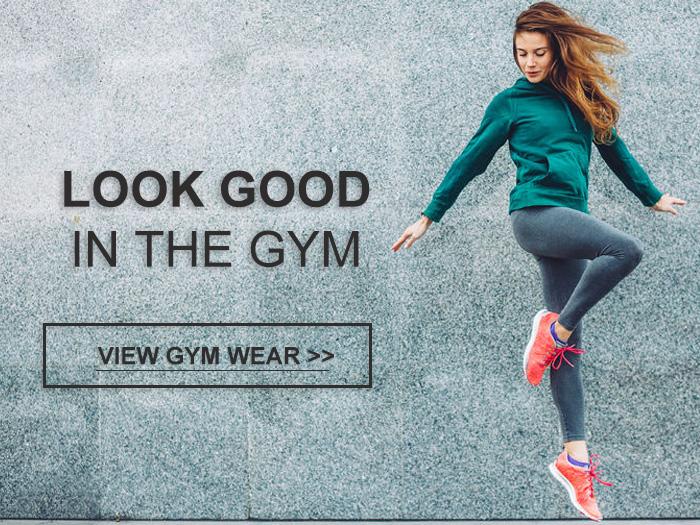 Image of female in Grey Gym Wear